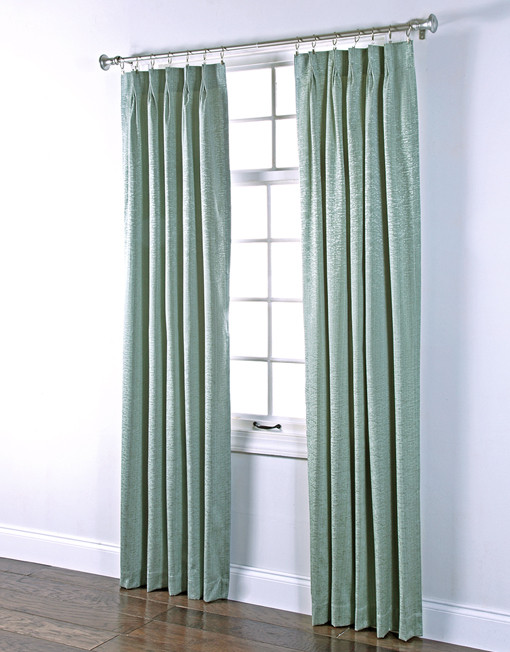 Portland Pinch Pleated Foam Back Drape Pair Renaissance