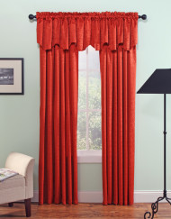Maxton Layered Scalloped Valance With Cording