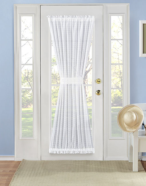 Merveilleux Montauk Novelty Sheer Door Panel. U2039